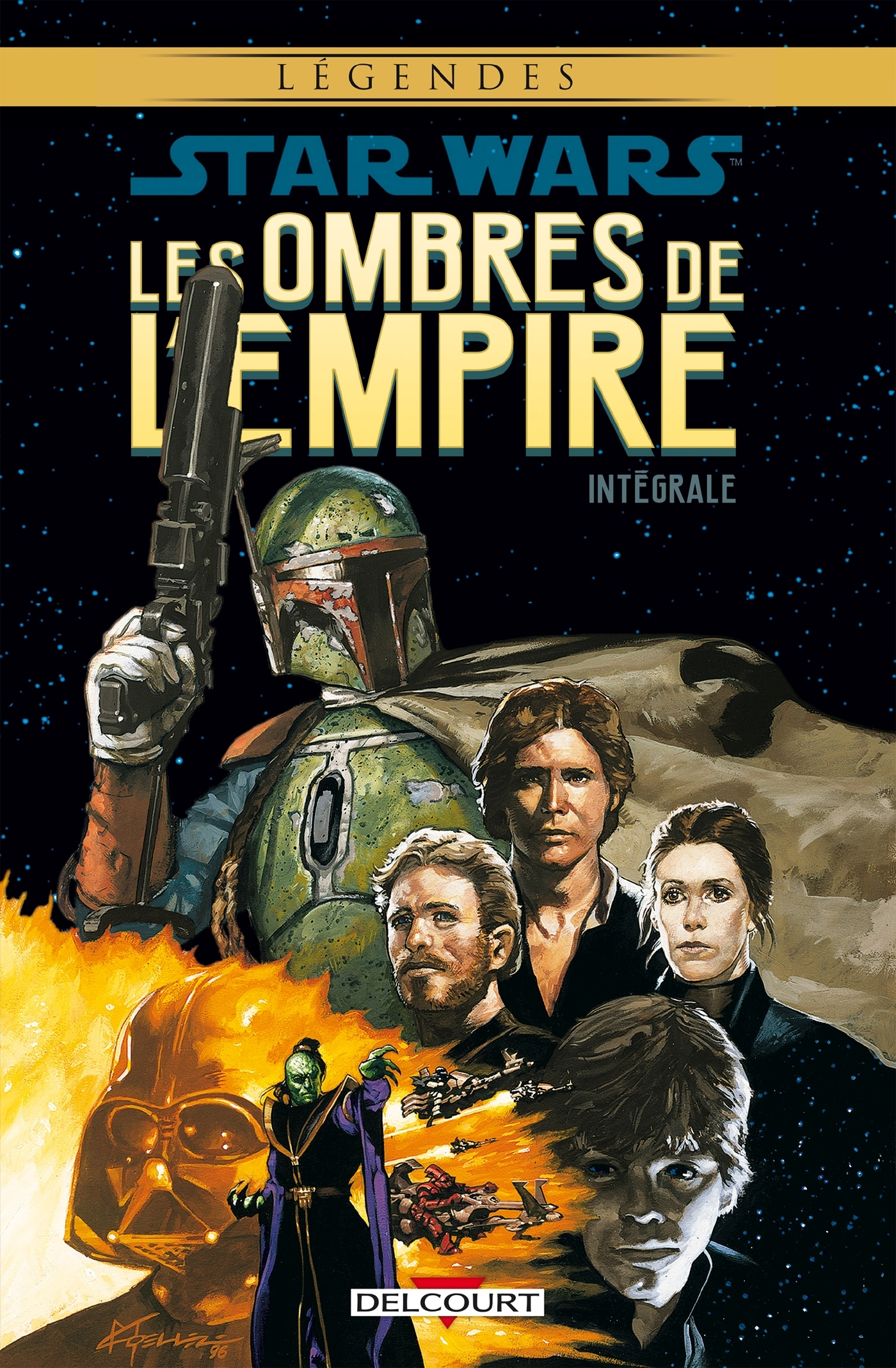 STAR WARS - LES OMBRES DE L'EMPIRE - INTEGRALE