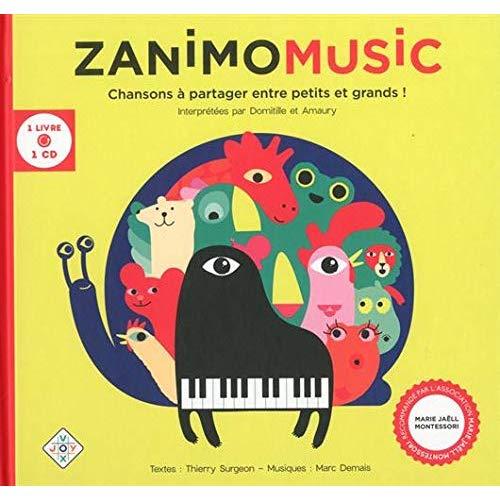 ZANIMOMUSIC 1 LIVRE ET 1 CD