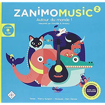 ZANIMOMUSIC 2 1 LIVRE ET 1 CD