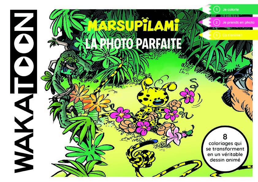 WAKATOON MARSUPILAMI,LA PHOTO PARFAITE