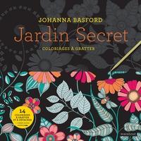 JARDIN SECRET - COLORIAGES A GRATTER