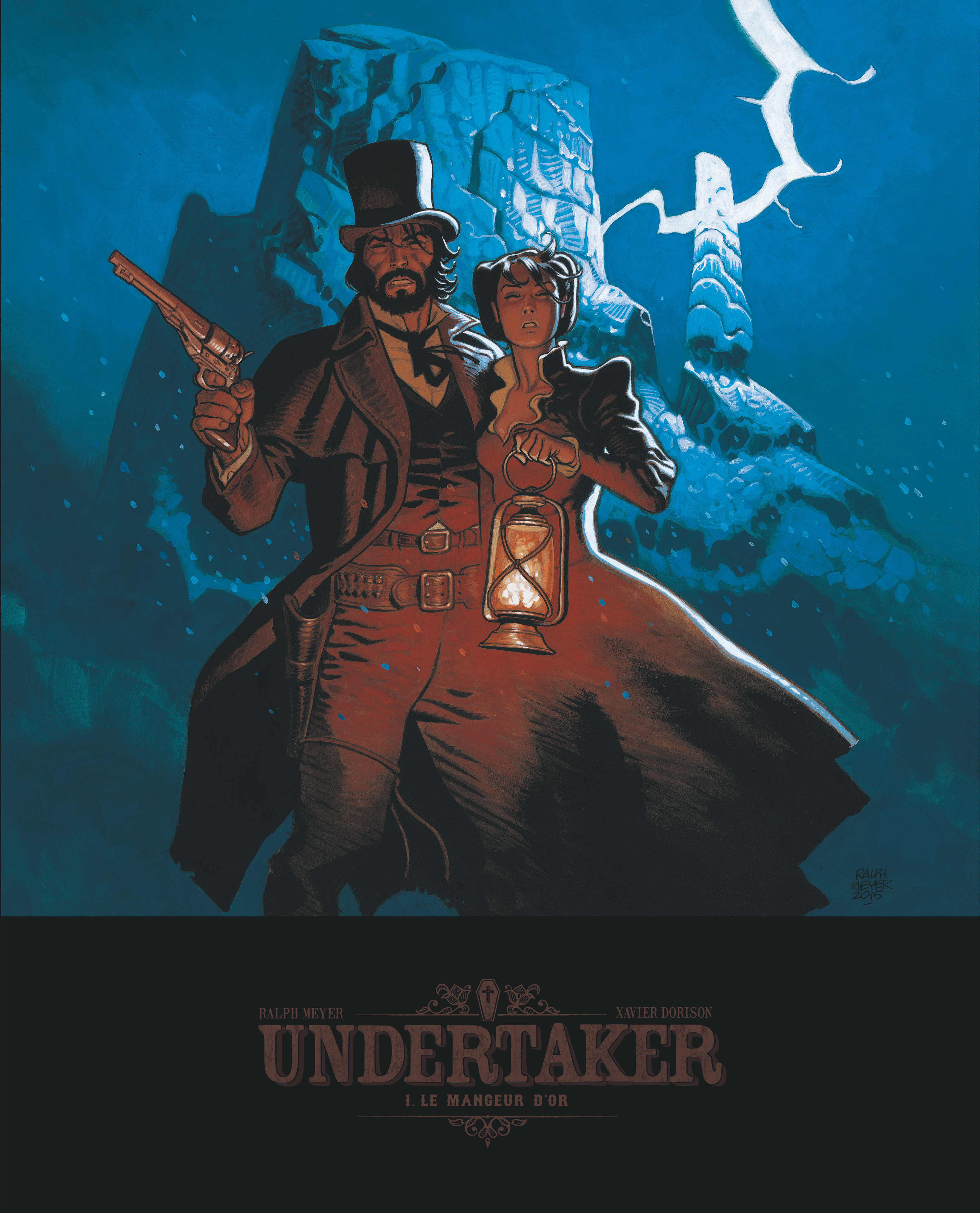 UNDERTAKER - TOME 1 - LE MANGEUR D'OR - EDITION BIBLIOPHILE