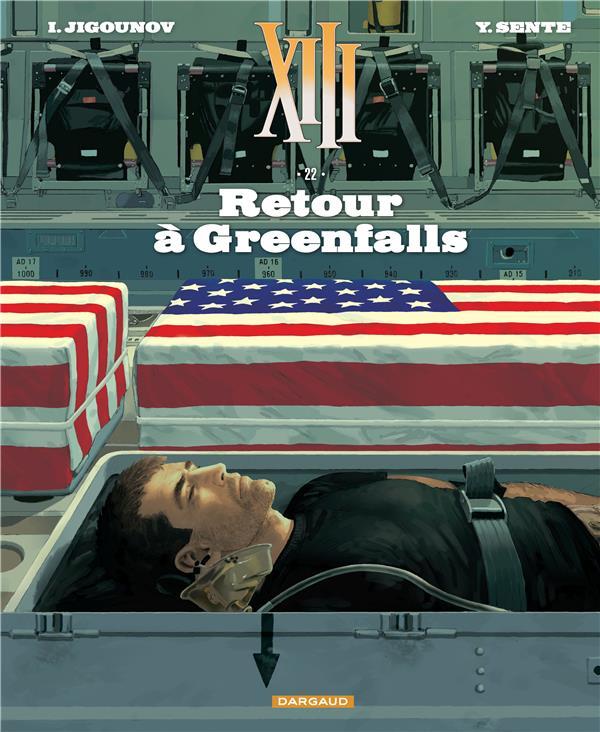 TREIZE (XIII) NOUVELLE EDITION T22 RETOUR A GREEFALLS