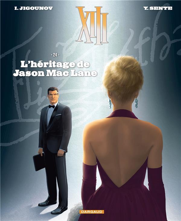 TREIZE (XIII) NOUVELLE EDITION T24 L'HERITAGE DE JASON MAC LANE