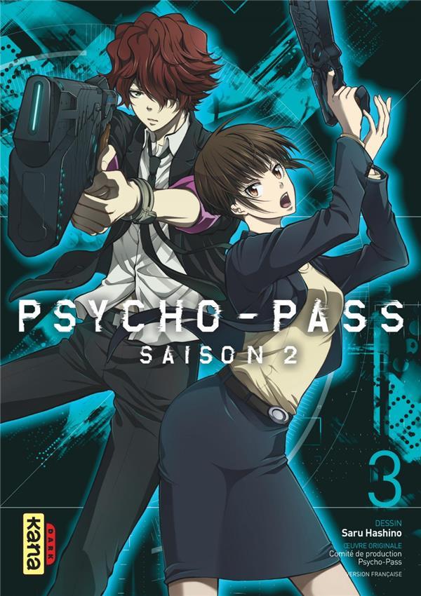 PSYCHO-PASS SAISON 2, TOME 3