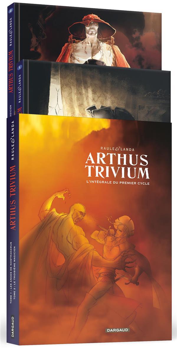FOURREAU ARTHUS TRIVIUM TOMES 1 ET 2