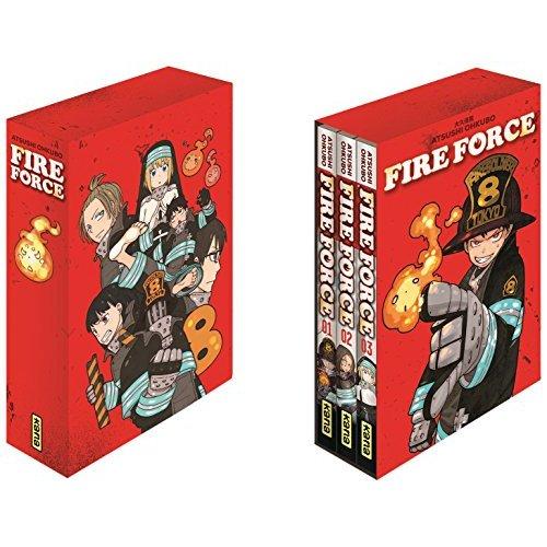 COFFRET FIRE FORCE T1+2+3