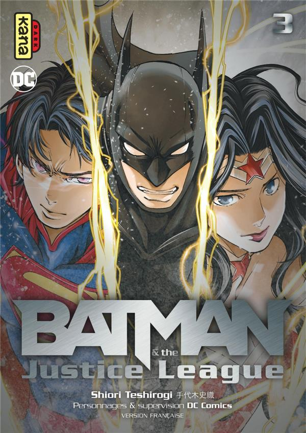 BATMAN AND THE JUSTICE LEAGUE, TOME 3