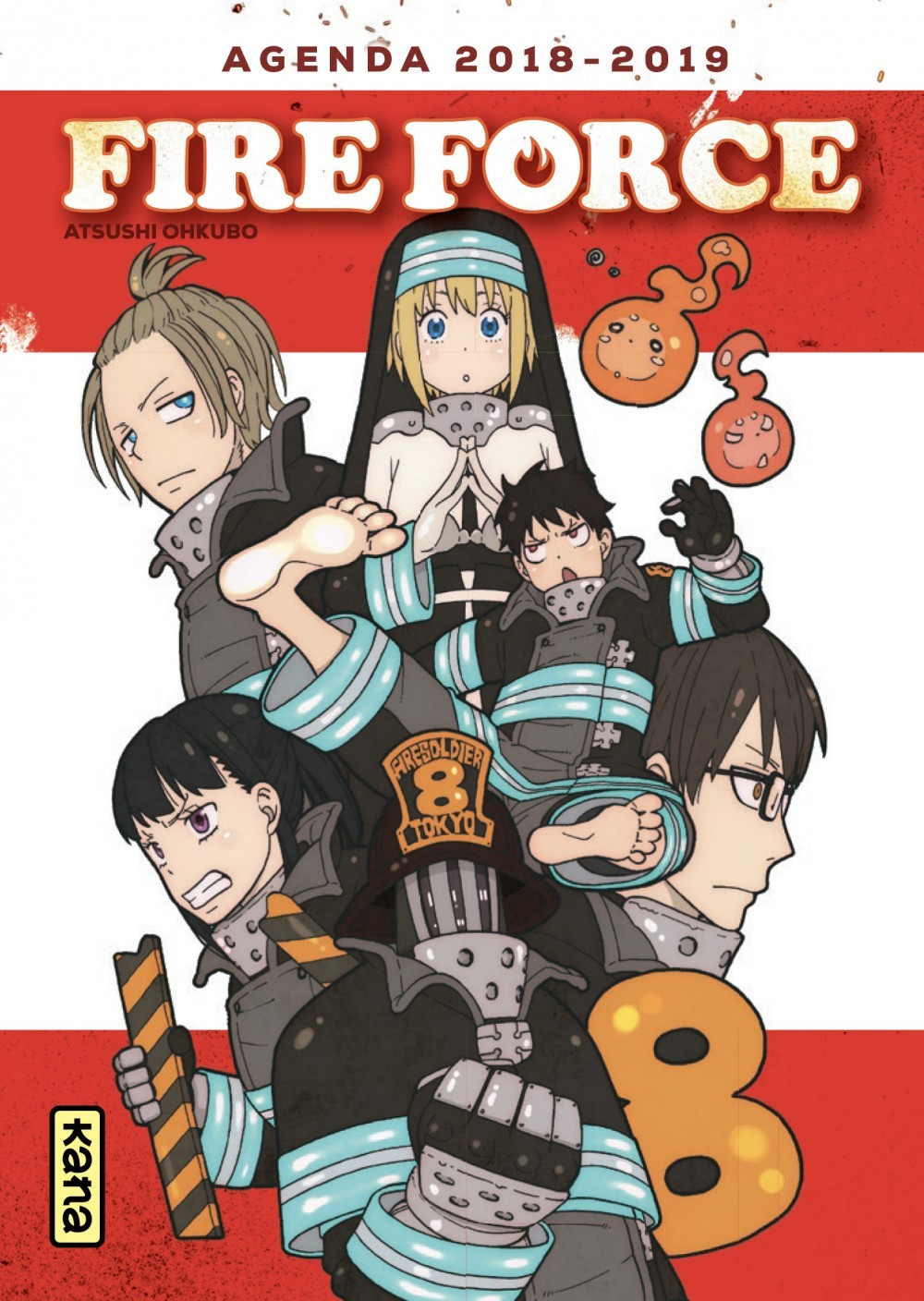 AGENDA FIRE FORCE, TOME 1