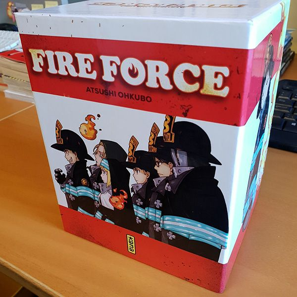 COFFRET FIRE FORCE T1A5+THERMOS