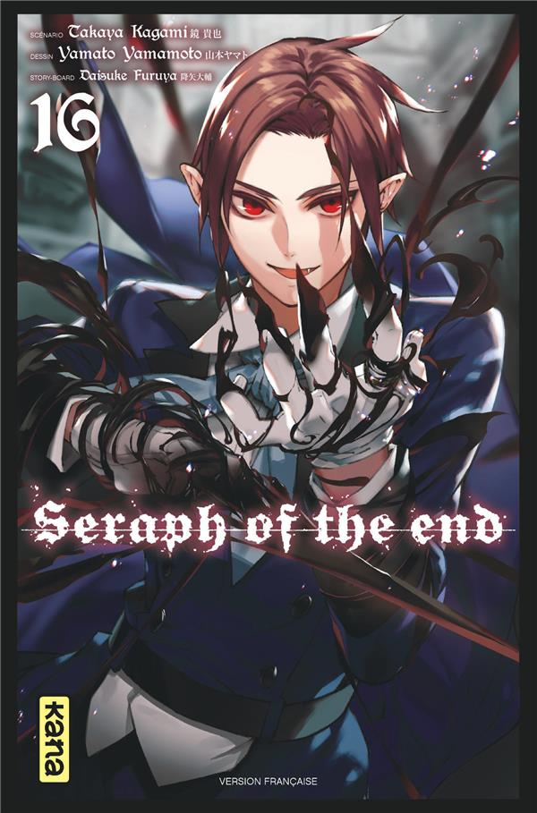SERAPH OF THE END, TOME 16