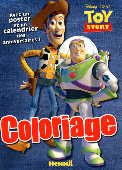 COLORIAGE AV POSTER TOY STORY1