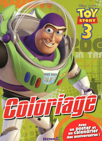 COLORIAGE AV POSTER TOY STORY3