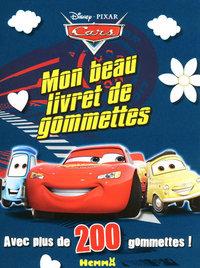 MON BEAU LIVRET DE GOMMETTES CARS