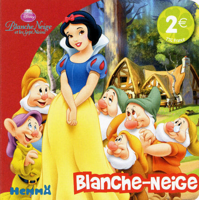 BLANCHE-NEIGE SPET NAINS DISN