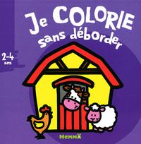 JE COLORIE SANS DEBORDER (2-4 ANS) (FERME)