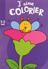 J'AIME COLORIER 3-5 ANS FLEUR