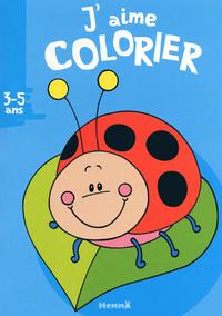J'AIME COLORIER 3-5 ANS COCCIN