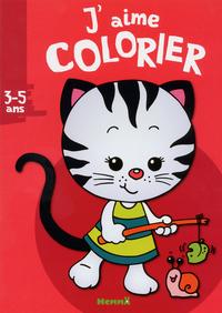 J'AIME COLORIER (3-5 ANS) (PET