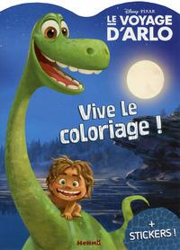 DISNEY PIXAR LE VOYAGE D'ARLO VIVE LE COLORIAGE !