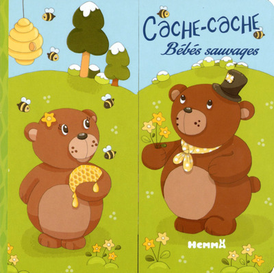 CACHE-CACHE BEBES SAUVAGES