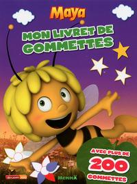 MAYA MON LIVRET DE GOMMETTES (FOND MAUVE)