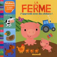 LA FERME J'APPRENDS AVEC DES STICKERS !