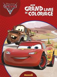 CARS 2 MON GRAND LIVRE DE COLORIAGE