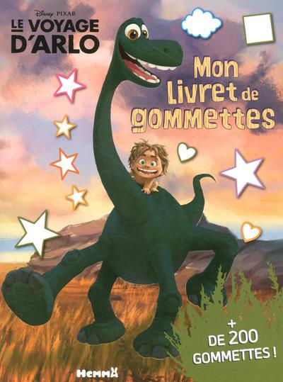 DISNEY PIXAR LE VOYAGE D'ARLO MON LIVRET DE GOMMETTES