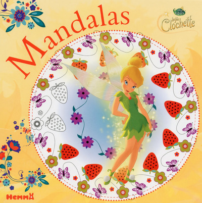 DISNEY LES FEES LA FEE CLOCHETTE MANDALAS