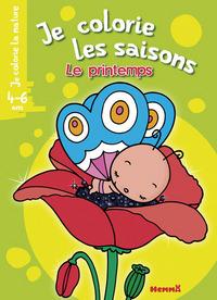 JE COLORIE LES SAISONS LE PRINTEMPS (4-6 ANS) (COQUELICOT-PAPILLON)
