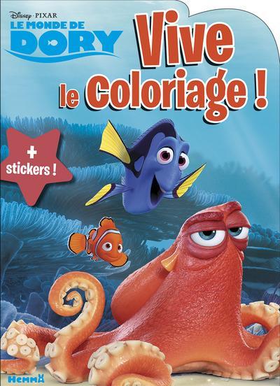 LE MONDE DE DORY VIVE LE COLORIAGE !