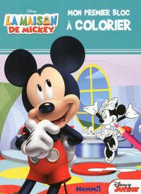 LA MAISON DE MICKEY MON PREMIER BLOC A COLORIER