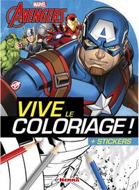 MARVEL AVENGERS VIVE LE COLORIAGE ! + STICKERS