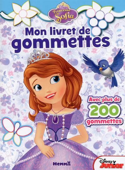 PRINCESSE SOFIA MON LIVRET DE GOMMETTES (OISEAU BLEU)
