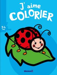 J'AIME COLORIER (2-4 ANS) (COCCINELLE)