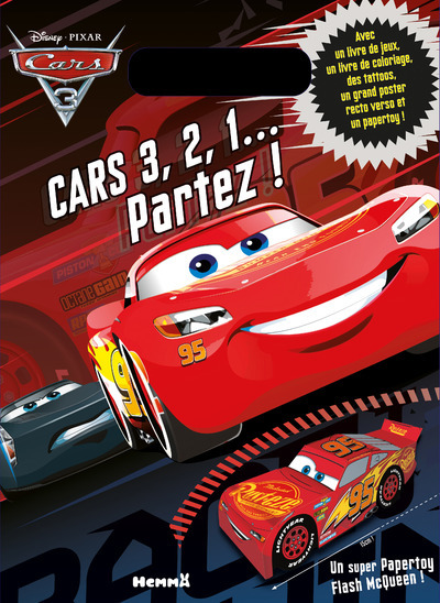 CARS 3 - 3, 2, 1... PARTEZ ! POCHETTE SURPRISE