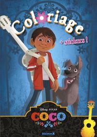 DISNEY COCO COLORIAGE + STICKERS !