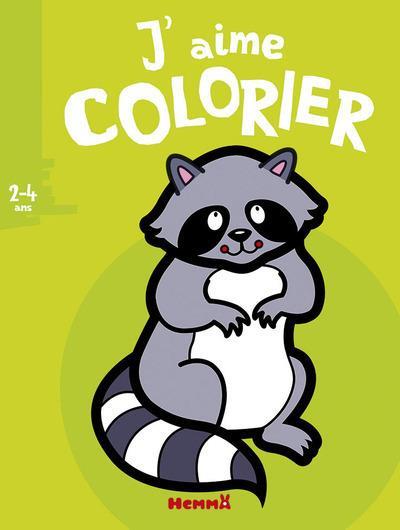 J'AIME COLORIER 2-4 ANS (RATON LAVEUR)