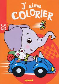 J'AIME COLORIER (3-5 ANS) (ELEPHANT)