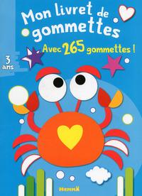 MON LIVRET DE GOMMETTES (CRABE)