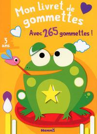 MON LIVRET DE GOMMETTES (GRENOUILLE)