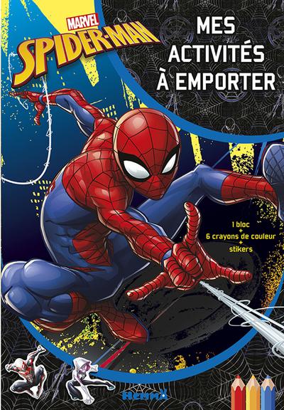 MARVEL SPIDER-MAN MES ACTIVITES A EMPORTER