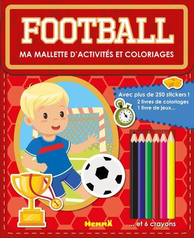 MA MALLETTE D'ACTIVITES ET COLORIAGES FOOTBALL