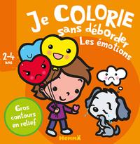 JE COLORIE SANS DEBORDER (2-4 ANS) LES EMOTIONS
