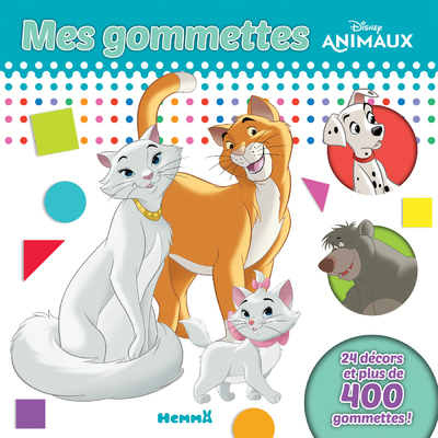 DISNEY ANIMAUX MES GOMMETTES  TOME 4