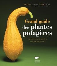 GRAND GUIDE DES PLANTES POTAGERES. HISTOIRE, ORIGINE, VARIETES, CULTURE, NUTRITION