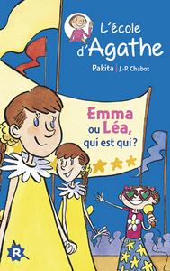 EMMA OU LEA QUI EST QUI ? - L'ECOLE D'AGATHE 2014 - T17