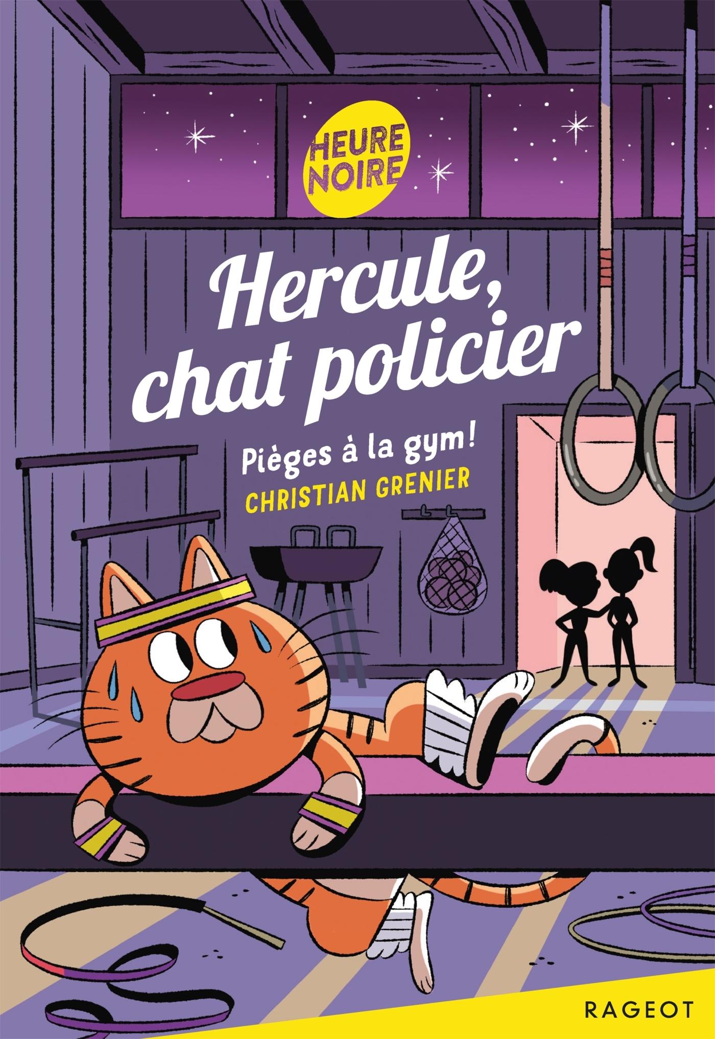 HERCULE, CHAT POLICIER - PIEGES A LA GYM !