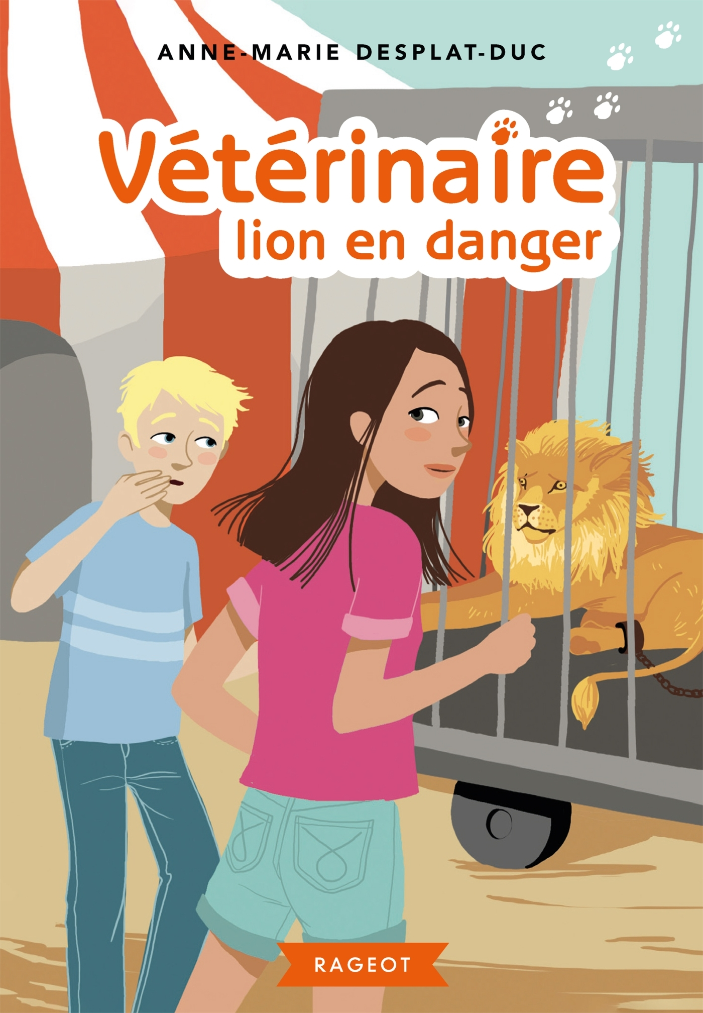 4 - VETERINAIRE LION EN DANGER
